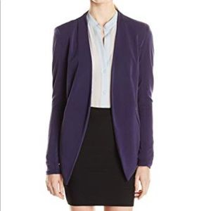 BCBG open front polyester jacket